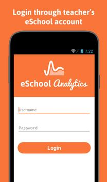 eSchool Analytics الملصق