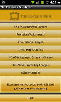The Escrow Firm apk screenshot