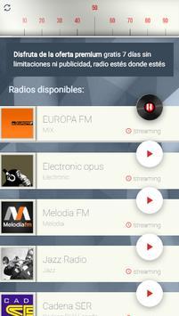 Escucha radio online apk screenshot