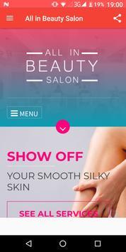 All in Beauty Salon Croydon poster