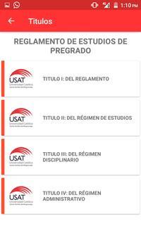 Mi Escuela USAT screenshot 2