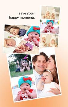 2017 baby collage maker apk screenshot