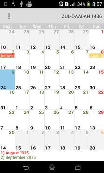 Muslim Calendar poster