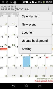Muslim Calendar screenshot 1