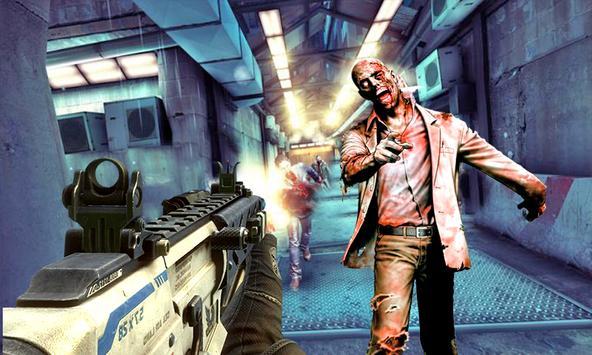 zombie dead:killer target shot poster