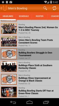 Union College Bulldogs screenshot 2