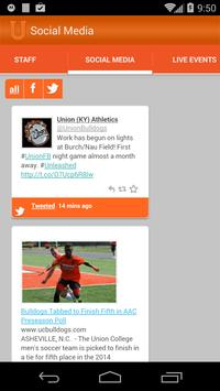 Union College Bulldogs screenshot 6