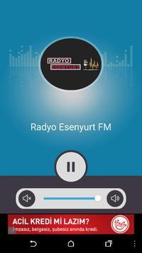 Radyo EsenyurtFM apk screenshot