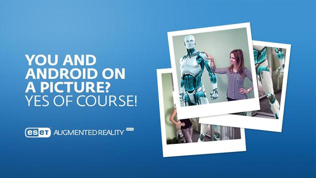 ESET Augmented Reality BETA poster