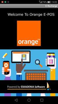 Orange E-POS poster