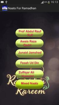 Special Ramadan Naats screenshot 5