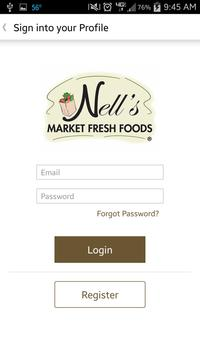 Nell's Markets poster