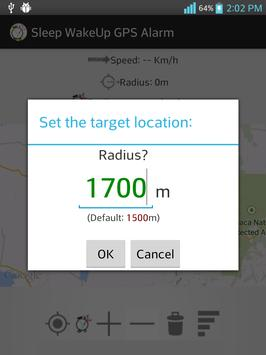 Sleep WakeUp GPS Alarm screenshot 3