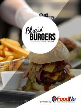Blazin' Burgers Almelo poster
