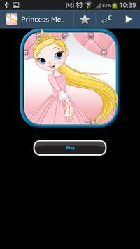Princess Memory Game poster