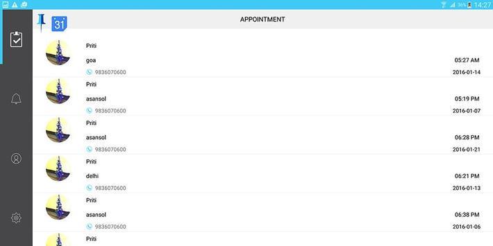 Pinpoint Appt. Client-Friend screenshot 11