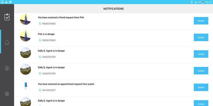 Pinpoint Appt. Client-Friend screenshot 12