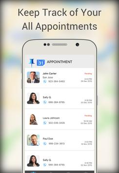 Pinpoint Appt. Client-Friend screenshot 1