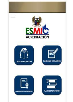 Esmic-Acreditación poster