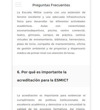 Esmic-Acreditación apk screenshot