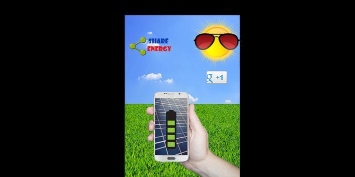 Solar For Batery Charger Prank apk screenshot