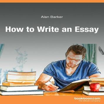 Essay writing in english poster