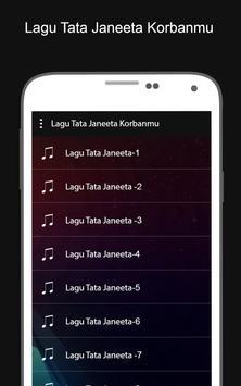 Lagu Tata Janeeta Korbanmu screenshot 1