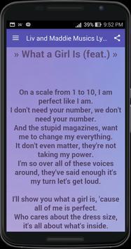Liv and Maddie Musics Lyrics screenshot 1