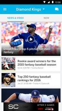 ESPN Fantasy Baseball screenshot 3