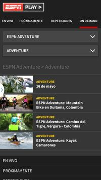 ESPN Play captura de pantalla 1