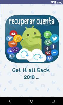 recuperar cuenta todas las redes sociales 2018 poster