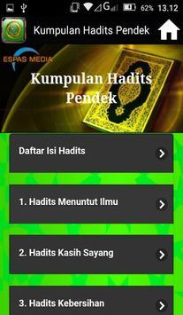 Kumpulan Hadits Pendek screenshot 2