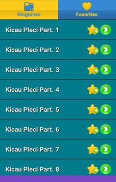 Kicau Pleci poster