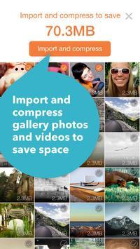 FotoFox more space more photos apk screenshot