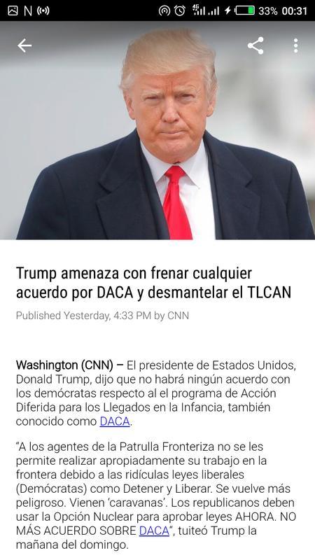 noticias cnn en espa241ol for android apk download