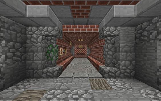 Evasion of Prison. Minecraft PE maps quest adventu apk screenshot