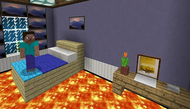 Floor is Lava. MCPE maps parkour poster