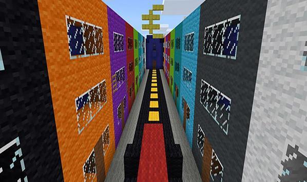8 levels parkour. Maps MCPE apk screenshot