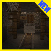 The Haunted Tunnel. Map for Minecraft PE adventure icon