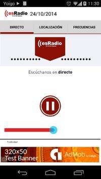 esRadio Huesca poster