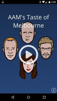 AAM's Taste of Melbourne poster