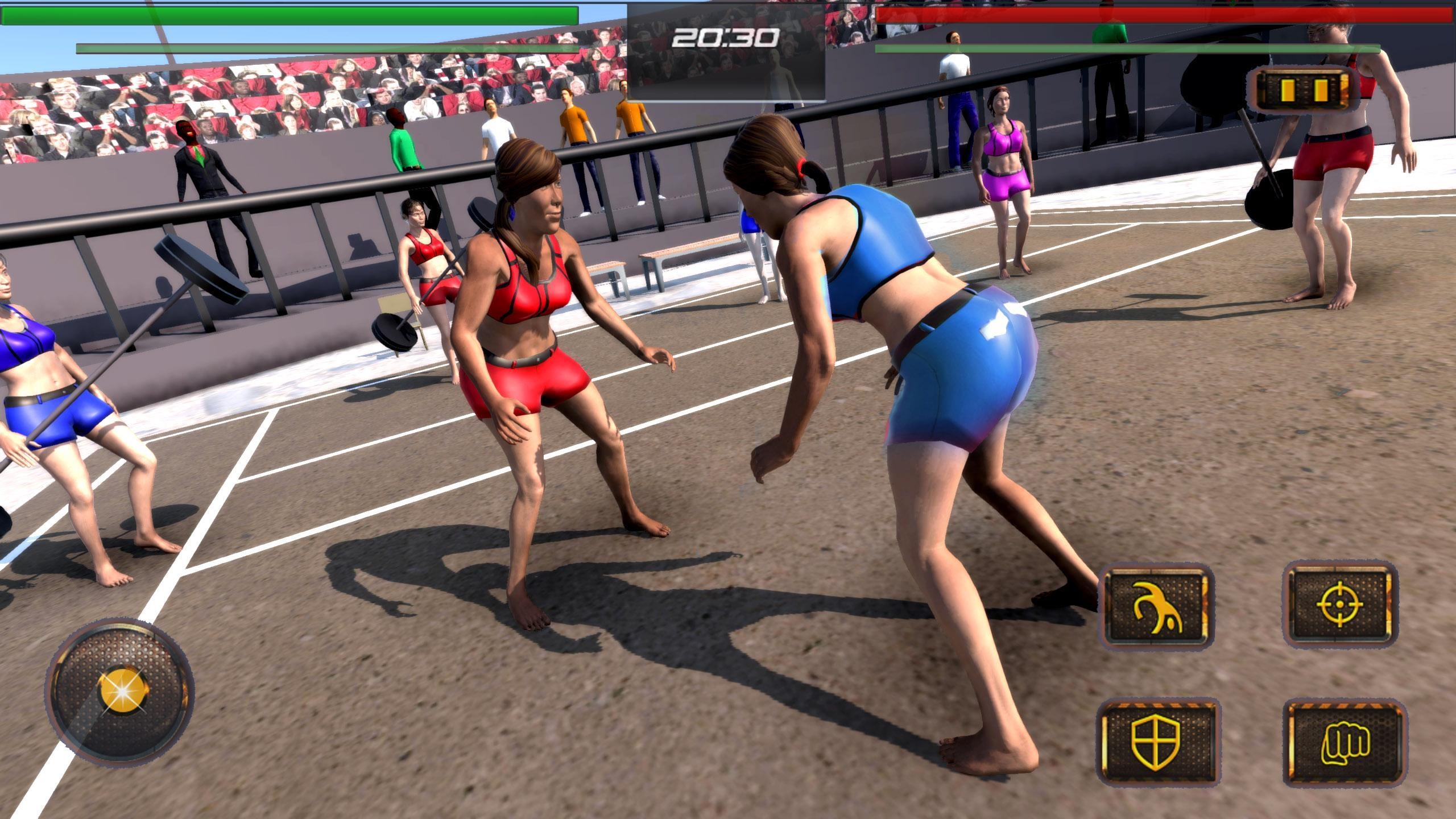 Real Kabaddi Fighting Girls Wrestling Game 2018 For Android Apk Download