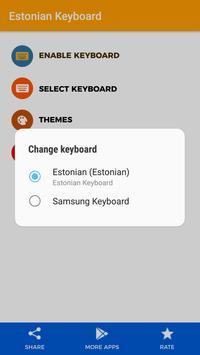 Estonian Keyboard apk screenshot
