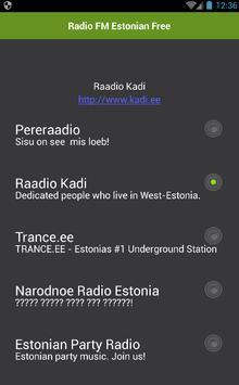 Radio Estonian Free poster