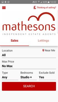 Mathesons Property Search poster