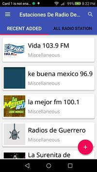 Estaciones De Radio Guerrero poster