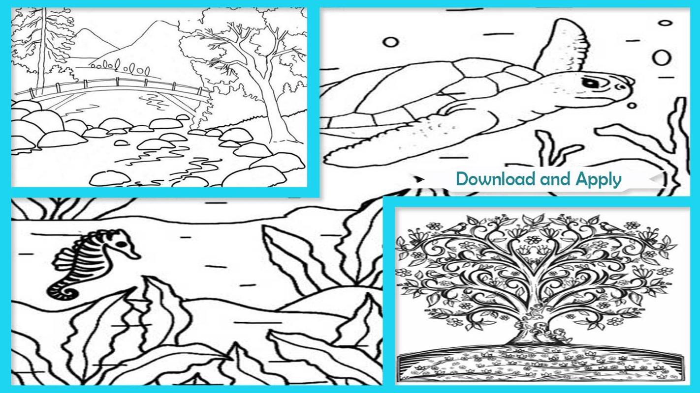 Amazing Nature Coloring Books for Android - APK Download