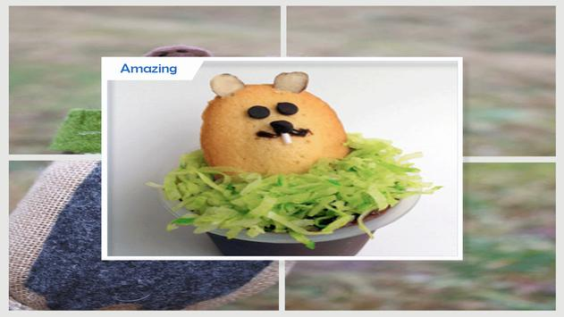 Cute Puppet Plate Groundhog screenshot 2