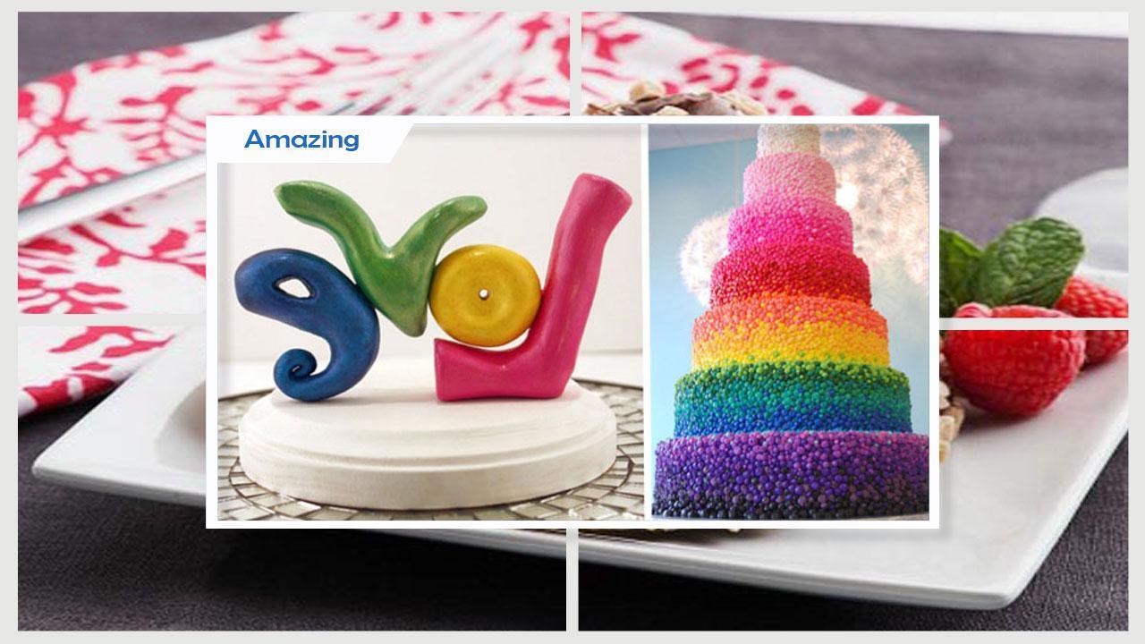 Unique DIY Rainbow Fortune Cookies poster