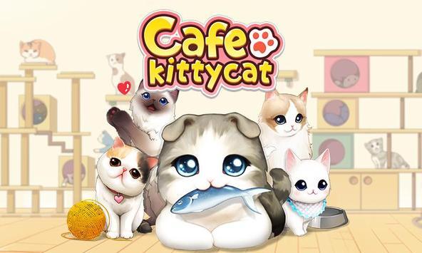 Cafe Kittycat poster